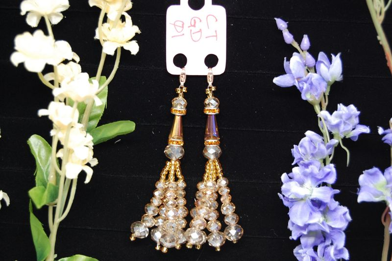 CTGD01 Golden Crystal Tassels