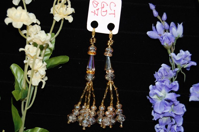 CTGD07 Golden Crystal Tassels