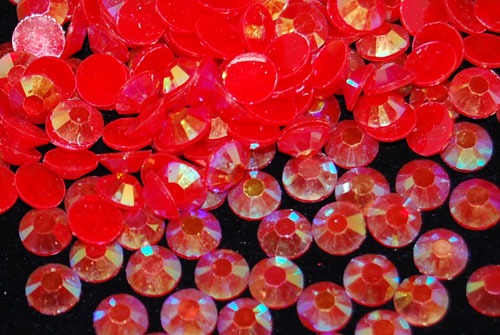 Red AB Jelly Rhinestones - 30ss - 500ct
