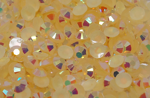 Champagne AB Jelly Rhinestones 20ss - 5 Gross