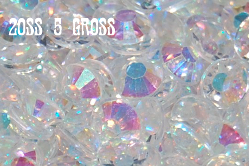 Clear AB Jelly Rhinestones 20ss - 5 Gross